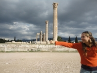athens forced perspective