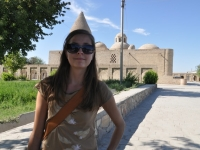 forced perspective-bhukara uzbekistan