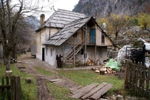 The Selimaj Guesthouse in Valbona, Albania.