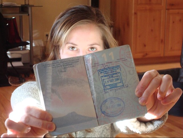 the passport shot