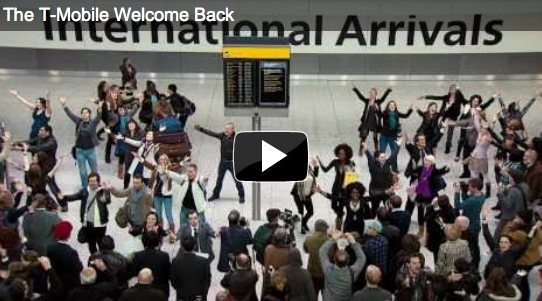 Airport Flash Mobs