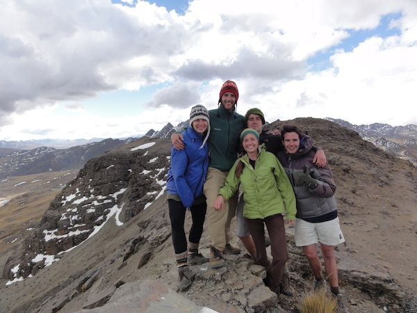 At 15,000 feet in the Bolivian Andes