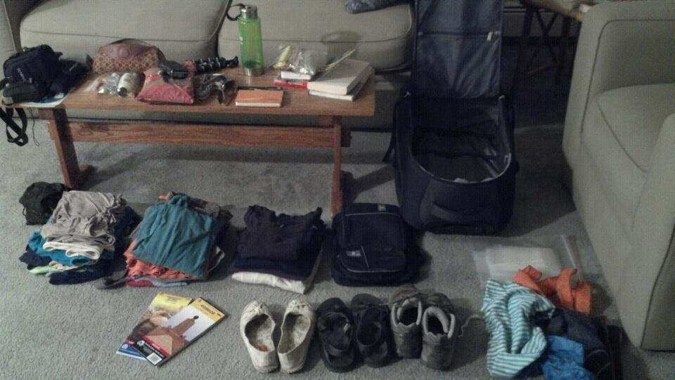 Packing always piques my pre-trip happiness