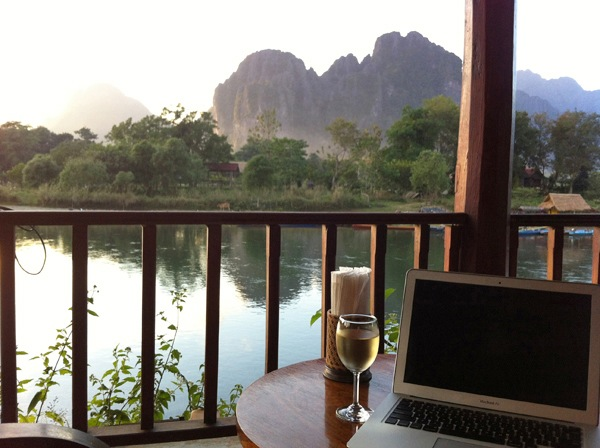 Work from anywhere. Photo by Cindy Fan