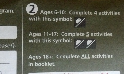 Bryce Canyon's Junior Rangers booklet is mots challenging for the 18+ crowd