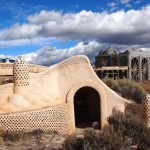 Aboard an Earthship in Taos, New Mexico