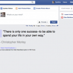 facebook minus newsfeed