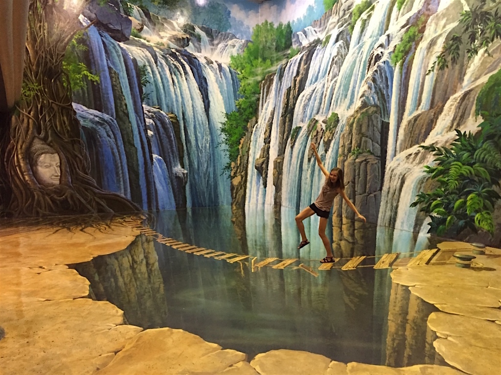 Visit Art in Paradise in Chiang Mai, Thailand - 3D Illusion Art Museum