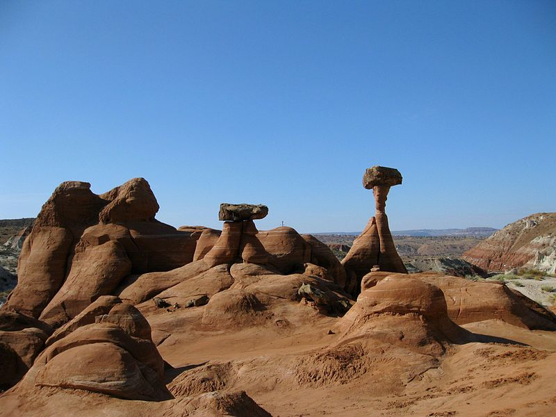 "The ""Toadstools"" at Grand Staircase Escalante National Monument"